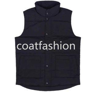 Os franceses Designer Homens Inverno de Down Tactical Vest clássico pena weskit Jackets Coletes bodywarmer Casual Brasão Norte soprador Doudoune Homme
