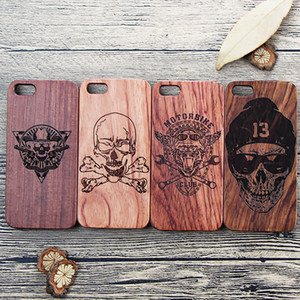 Eco Friendly Individuelles Logo Real Wood Individuelles Phone Cases für iPhone 6 7 8 X XR XS 11 Pro Max