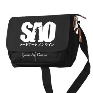 Sword Art Online SAO Venom Borsa a spalla Spider Man Borsa a tracolla Tote School Bool Borsa per studenti