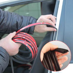 4/5 метров двери автомобиля Seal Strips Наклейка B Форма двери автомобиля уплотнительная полоса Звукоизолирующие пыле WEATHERSTRIP резиновые уплотнители