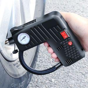 المحمولة ضاغط الهواء اللاسلكي الكهربائية للسيارات سيارة دراجة الاطارات نافخة مضخة 12V