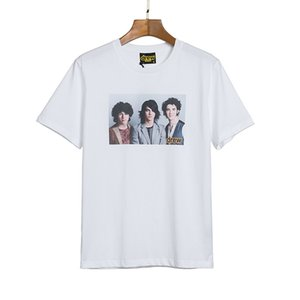 Abbigliamento Uomo Top Quality Justin Bieber Drew House SS20 nuovo arrivo T-shirt Stampa Tees manica corta S-XL 802