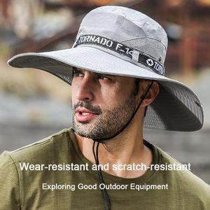 UPF 50+ Sun Hats Bucket Autumn Unisex Fishing Hat Sun UV Protection Long Large Wide Brim Mesh Hiking Outdoor Beach Cap 77