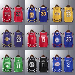 2019 новые оптовые продажи американского баскетбола суперзвезда баскетбольная звезда изготовленный на заказ баскетбольный интегрированный жилет спортивная одежда для ребенка