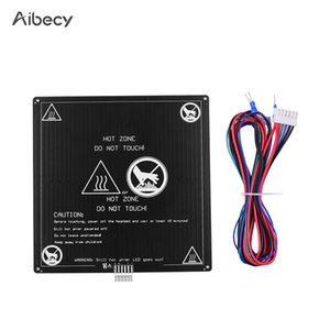D Printing 3D Printer Parts & Accessories Aibecy Aluminum 12V Hotbed 220*220*3mm Heated Bed with Wire Cable Heatbed Platform Kit for ...