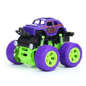 Quatro veículos de passeio de roda inércia do veículo cross country crianças modelo menino cair especial resistente ao efeito brinquedo fonte tenda do mercado de automóveis noite m
