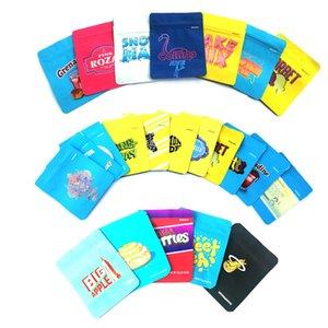 Fermuar Çanta Gelatti C LOGO Dokunmatik Cilt DHL Ücretsiz Packaging ÇEREZLER Çanta Kaliforniya SF 8 3.5g Mylar çocukların açamayacağı Çanta 25 çeşit