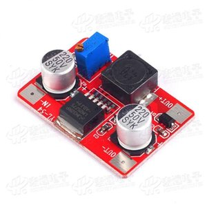 2pcs LM2577 high voltage DC-DC boost module   IN3.5-35V OUT5-56V with indicator light
