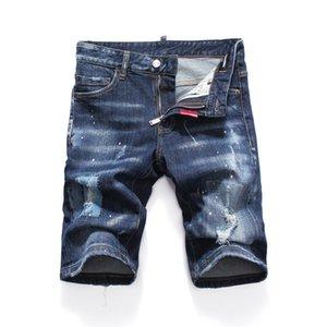 20ss Sommer dsquared2 Designer männlichen Jeans für Männer rissen men jeans Shorts Loch kurze Hosen gewaschen