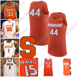 Benutzerdefinierte Syrakuse orange Basketball Jersey NCAA College Bourama Sidibe Jerami Grant Dion Kellner Dave Bing Carter-Williams Derrick Coleman