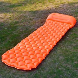 Gonfiabili Beach Mat Air Mattress Picnic materasso con Cuscino Dormire cuscino Air Bag Divani gonfiabile Sleeping Pad Camping Mat