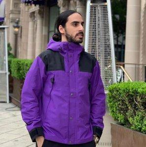 N-hombre y chaquetas femeninas de alta calidad de la chaqueta cazadora de lujo bordado logotipo de diseño de moda deportes al aire libre de marca cazadora informal