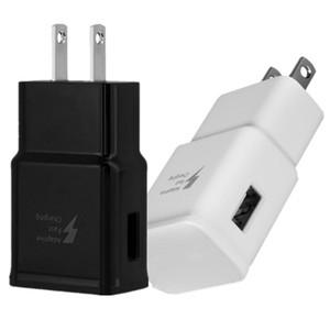 빠른 속도 EU 미국 AC 홈 벽을 충전 USB 벽 충전기 2A 어댑터를 들어 삼성 S6 S8 S10 주 10 HTC 안드로이드 전화를 충전기