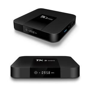 TX3 mini Android 8.1 Fernsehkasten 2GB 16GB Amlogic S912 Octa-Core Dual wifi bt Media Player Smart-Box
