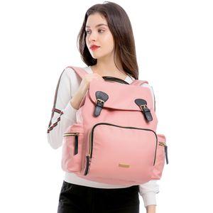 LAND Mommy Backpacks Landuo Mother Large Capacity Travel Bags Mummy Diaper Bags Baby Nappy Nursing Bags drop ship MPBJ07