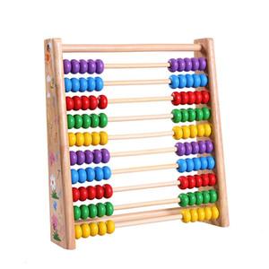 Early Childhood Education Abacus Bead de madeira Cálculo Quadro de Ensino de ajuda do bebê Brinquedos Educativos