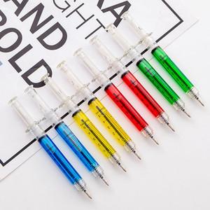 Школа офис шариковых ручек Креативный Шприц иглы шариковых ручек иглы с черными чернилами Шариковая ручка Student Prize Рекламные Подарки Ручка BH2532 такой анкеты