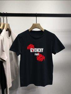 Sommer Art und Weise Hip-Hop-Entwurfs-T-Shirt Männer-Qualitäts-Gewohnheit Druck Tops Hipster Tees Mensentwerfer Badeshorts Givency