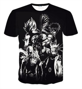 Fairy Tail Natsu Anime Camiseta Hombre Camisas 3D Unisex Tee Pareja Tee Shirs Camisetas de Dibujos Animados para Niños Anime Fans 8 Estilos S-5XL