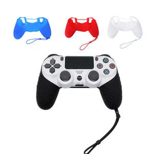 Контроллер резиновая ручка крышки кожи силикона Обложка чехол для PlayStation 4 PS4 Pro Тонкий Мягкая силиконовая кожа Non-Slip Грип обложка чехол