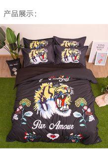 америка флаг простыня комплект постельных принадлежностей короля пододеяльник домашний текстиль производство поставщик экспортное качество любовь море 3-4 штук в наборе