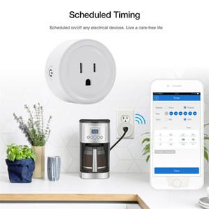 2020 inteligente tomada inteligente WiFi Tomada US UK EU Plug switch Para Página inicial do Google App Control For Alexa Conectado por WiFi plug 20pcs DHL