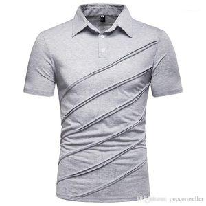أزياء عادية جديدة ترميز أوروبي اللون Patchwork قصيرة الكم تي شيرت Mens مصمم الملابس Mens مصمم التنانير