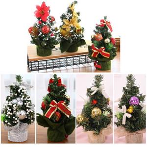 Árvore de natal Decorações De Natal Holiday Party Shopping Desktop Ornamento Árvore 20 cm Mini Dia de Natal Decorações Shopping Frete Grátis XD21038