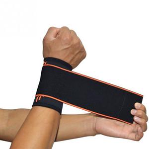 Einstellbare 1PC Armband elastischen Handgelenk wickelt Bandagen für Gewichtheben Fitness Breathhandgelenkstütze