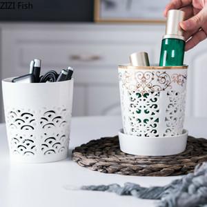 Съемная керамика сливной палочки для еды стойки из двух частей набор плесени доказательство бытовой кухонный контейнер для хранения столовых приборов