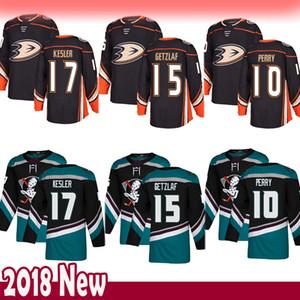 Мужские Anaheim Ducks 15 Гецлаф хоккея 17 Кеслер 10 Кори Перри Джерси