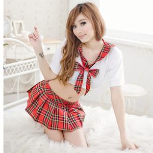 Hot vente sexy costumes école femmes japonais uniforme scolaire cosplay la part de pure tentation costume écolière sexy