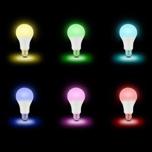 Lâmpada RGB + Branco Quente WIFI Smart LED Luz Voice Control Trabalho Com Alexa Night Light Bulb Energy Saving multifuncional Lâmpada DH1183 T03