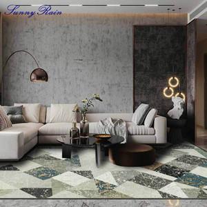 SUNNYRAIN 1 peça tapete de área para Sala Quarto grandes tapetes Tapetes para Sala lavável