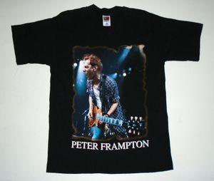 VTG 90S Peter Frampton Camiseta del concierto Comes Alive II tour 1996 Nuevo sin uso Lg