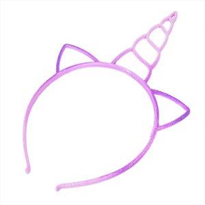 3 6pcs lot Unicorn Headband Boy Girl's Crown Hair Hoop Children Birthday Supplies For Party Accessories Cat Ears Headwear