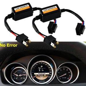 2ST H4 LED-Scheinwerfer Canbus Fehler Free Anti Flicker Widerstand Canceller Decoder