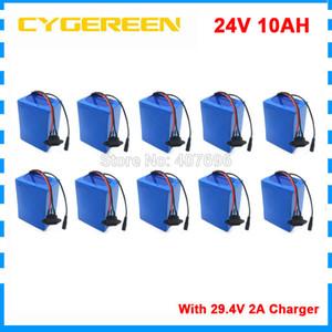 Toptan 10pcs / 15A BMS İçin Electric ile çok 24V 10Ah 29.4V Li-ion Pil paketi ebike Scooter ışık bisiklet tekerlekli sandalye moped