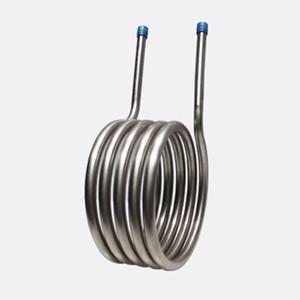 Tuyau de serpentin en titane destiné à être un échangeur de chaleur Tuyau de serpentin en titane pour serpentin en titane pour échangeur de chaleur à usage industriel