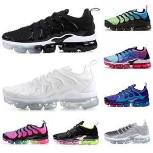 Nike Air Max Vapormax tn plus des femmes des hommes 2020 vert Aurora Olympics géométrique noir blanc rose Rise Spirit sarcelle Grille Imprimer chaussures de course de citron vert