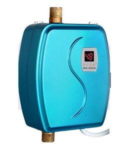 ALDXY69-XY-FG, mini calentador de agua eléctrico eléctrico inmediato de la ducha cubierta sin tanque calentador de agua Cocina Baño de agua de calefacción