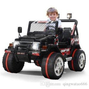 Дети джип ездить на автомобиле 12 в электрические колеса пульт дистанционного управления MP3 светодиодные игрушки