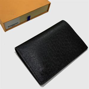 Passaporto del supporto di carta di lusso del raccoglitore Portafoglio Mens Designer Portafoglio Womens lusso Designer Handbags Purses Zippy frizione Portafogli borsa Designer