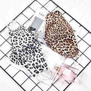 Mode imprimé léopard Masque visage adulte Masques Anti-poussière lavable réutilisable Masques bouche unisexe vélo Designer Masque CYZ2592