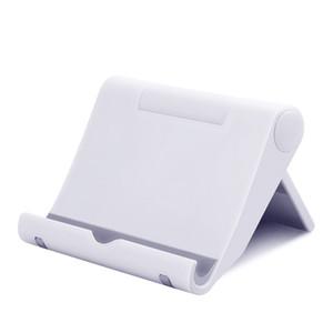 2019 бесплатная доставка складной пластиковый стенд для мобильных аксессуаров универсальный кровать настольное крепление мобильного телефона подставка для телефона держатель