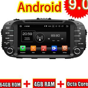 TOPNAVI 8 '' Android 9.0 Car DVD Auto Media Center Video Player Para Kia Soul 2014 Radio GPS de Navegação Double Din Octa Core Audio