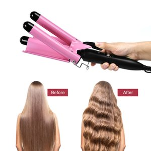 Professional ceramic three-in-one perm styling tool hair stick curling iron agsdhn