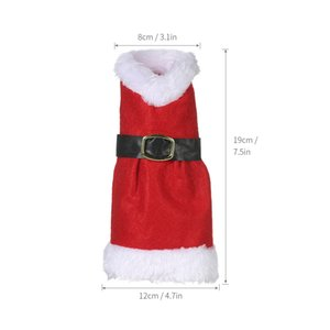 Hot Christmas Decoration Wine Bottle Cover X'mas Champagne Gift Wrap Clothes Christmas Party Christmas Decoration for Home