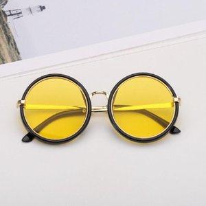 Moda ragazze dei ragazzi degli occhiali da sole dei bambini dei bambini Piolt stile Sun di vetro di marca Protection Design anti-UV Occhiali Oculos Occhiali
