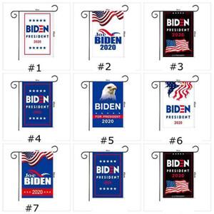 JOE Biden 2020 Bahçe Bayrağı 45 * 30CM Amerikan Başkanı Seçim Bayrağı Biden 2020 Bayrak Biden Seçim Banner ZZA2253 50Pcs